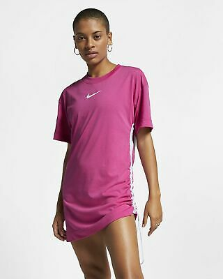 Cúal Propiedad olvidar  Nike Sportswear Swoosh Women's Dress M Pink Fuchsia Casual Summer Outdoors  | eBay
