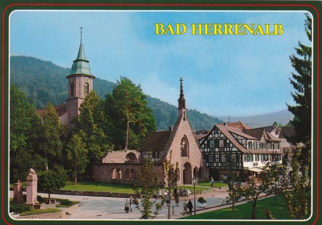 Bad Herrenalb im Schwarzwald , Ansichtskarte