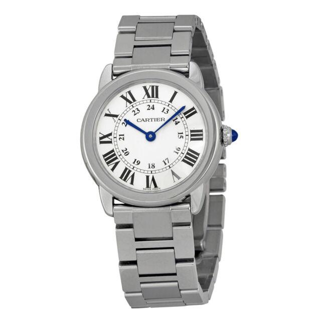 Cartier Rondo Solo de Cartier Stainless Steel Ladies Watch W6701004