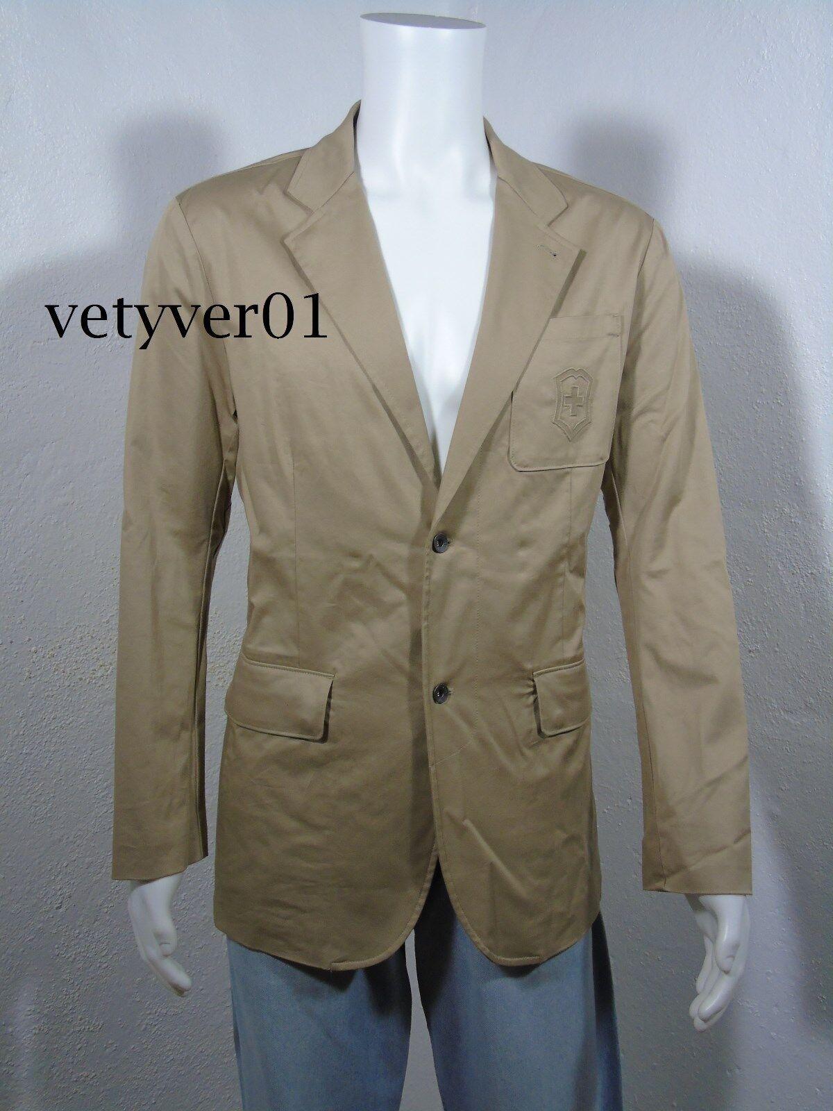 NWT VICTORINOX Swiss Army Cotton Stretch 'President' Blazer Sport Coat sz 42R(L)