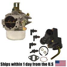 Kohler Fuel Pump & Carburetor Kit 4755904-S 4739319-S K241 K301 10HP 12HP Engine