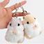 Animal Cartoon Gray//khaki Small Hamster Doll Toy Key Chain,stuffed Mouse Toy NE8