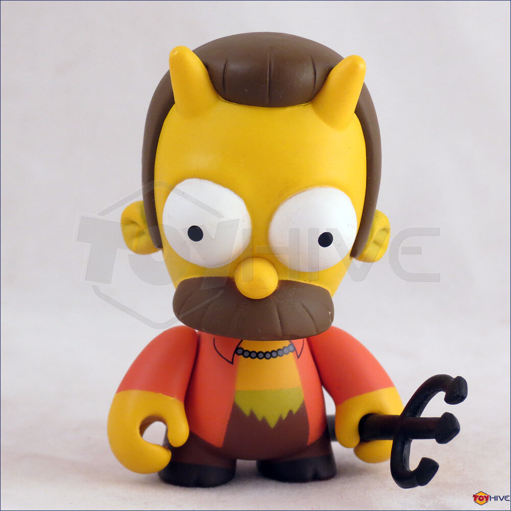 Kidrobot - The Simpsons series 1 - Devil Ned Flanders 3-inch vinyl figure