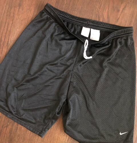 Nike XL Sweat Shorts Black Vintage Grey Tag