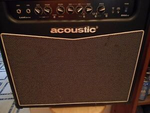 ACOUSTIC BRAND AMPLIFIER LEAD SERIES G100FX 60 WATTS 8 OHMS Barely Ever Used