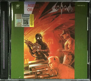 SODOM-Agent-Orange-MALAYSIA-EDITION-CD-RARE-NEW-SEALED-FREE-SHIPMENT