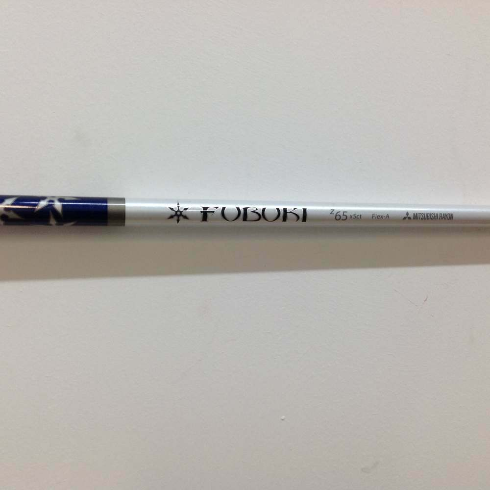 Pulled Fubuki Z 65g x5ct A Amateur Senior Flex Graphite 40  Hybrid Shaft