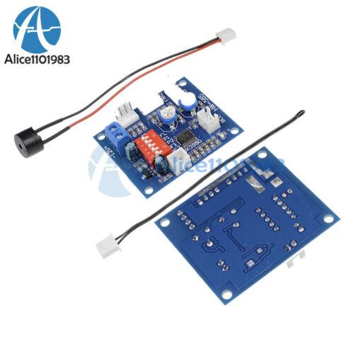 12V PWM ventola per CPU PC controllo di temperatura regolatore di velocità Modulo Alta Temperatura Allarme