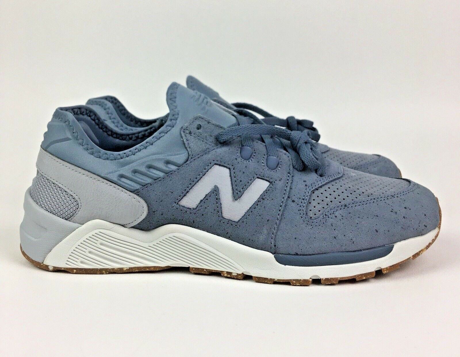 New Balance 009 Speckle Suede shoes bluee Silver ML009PB D Speckle Size 11.5 NEW