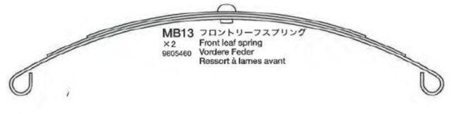 LKW 56301 2 Tamiya 309805460 Blattfeder Vorderachse