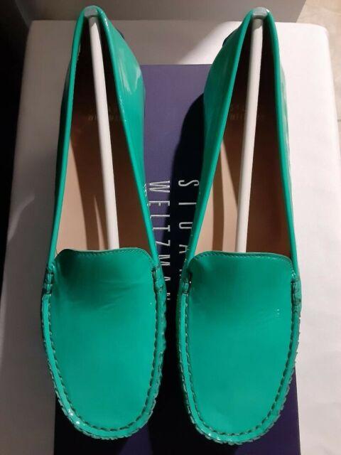 stuart Weitzman MACH1 Mint Aniline NW52584 Size M 5 Brand New -Discounted