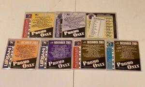 Lot-of-7-Promo-Only-Urban-Mainstream-Rhythm-Radio-Promotional-DJ-Music-CDs