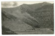 RPPC UINTAH RAILWAY Narrow Gauge Railroad CO UT Utah Real Photo Postcard