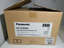 Panasonic Advanced Hybrid Amp Wireless Pbx Model Kx Taw848 New Old Stock