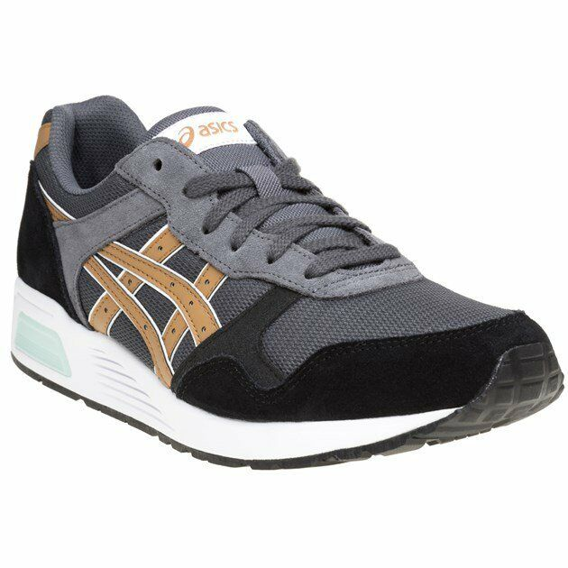 New MENS ASICS GRAY LYTE SNEAKER SUEDE Sneakers Retro