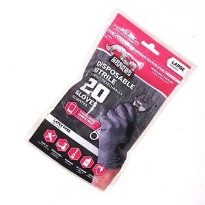 grease monkey nitrile gloves large 20 COUNT PACKAGE
