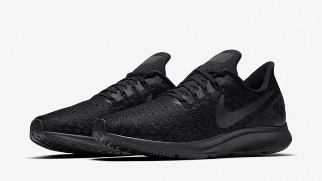 size 40 8abaa 43bd9 Nike WMNS Air Zoom Pegasus 35 Black Gold White Running Shoes 942855-007  Size 11
