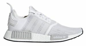 New Adidas Men s Originals NMD R1 Boost Shoes (B79759) White ... f899f4a79
