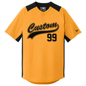 42bdf3075 Image is loading Custom-Baseball-Jerseys-2-Button-Youth-and-Adult-