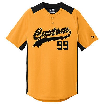 cheaper 232bd 725ea Custom Baseball Jerseys / 2 Button / Youth and Adult Sizes / Softball  Jersey   eBay