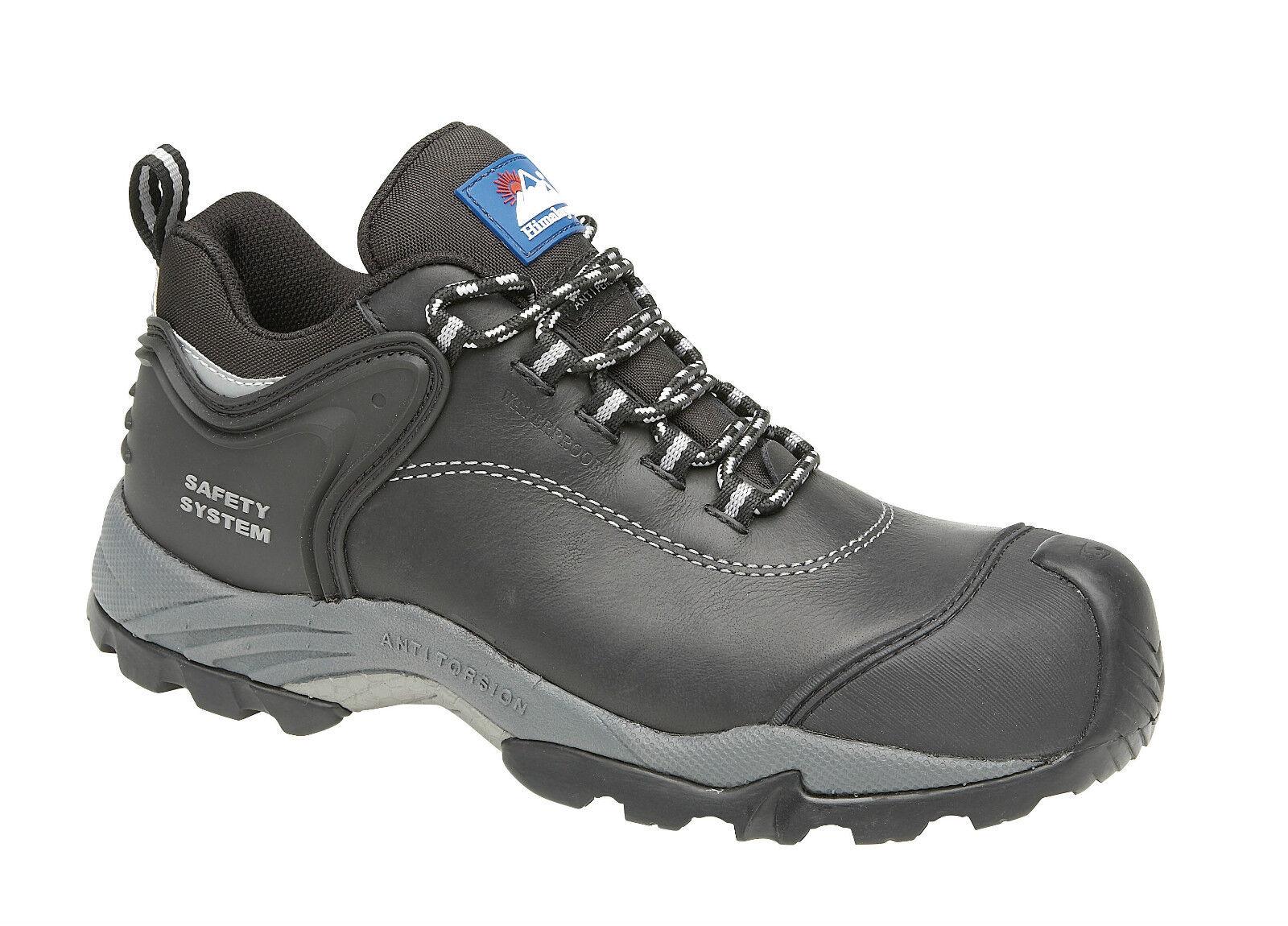 Himalayan 4108 S3 SRC Negro Puntera Composite Zapatos De Seguridad Impermeable Metal Gratis