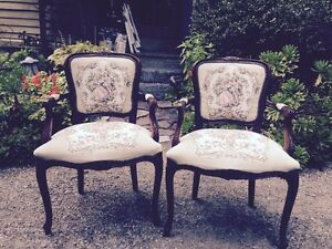 Image Is Loading French Provincial Louis Xv Style Carved Fl Italian