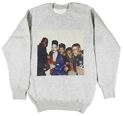 Michael Jordan Will Smith Kid N Play Sweatshirt Size S-XXL Fresh Prince Supreme