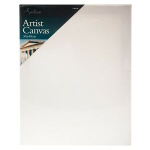 QUALITY-Blank-White-Artists-Canvas-Primed-Wood-Frame-30cm-x-40cm-16-034-x-12-034
