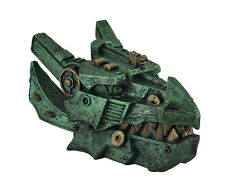 Mechanical Steampunk Dragon Head Decorative Trinket Box