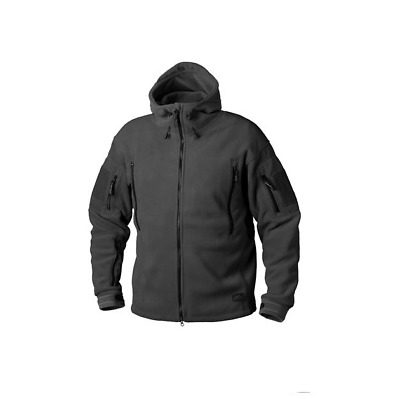HELIKON GIACCA TATTICA PATRIOT Jacket Double Fleece Black NERA size XS