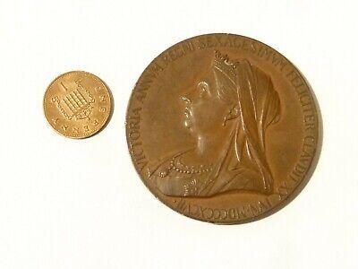 RARE 1897 CORONATION JUBILEE MEDAL QUEEN VICTORIA