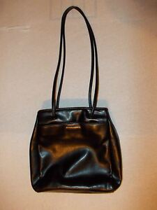 984820fa785ee NINE WEST BLACK leather shoulder bag purse Nine West purse Black ...