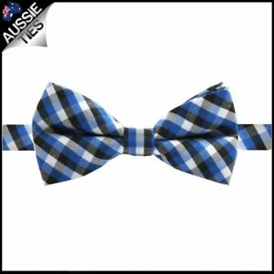 Boys-Blue-Black-and-White-Check-Bow-Tie