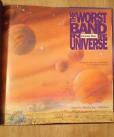 Signed The Worst Band In The Universe By Graeme Base + Pic Doodle, Cd