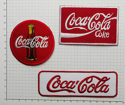 COKE - COCA COLA Cool Collection of Advertising Patches Embroidered/Iron-On #S01