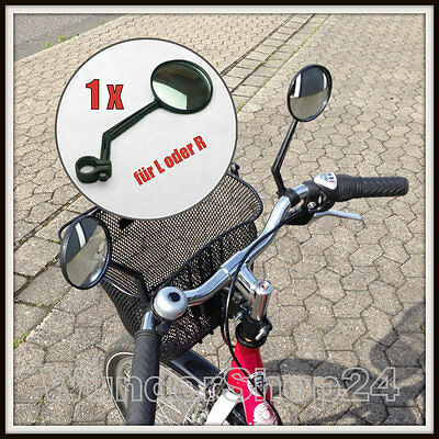 Konvex Fahrradspiegel Rückspiegel Panoramasicht Fahrrad-Spiegel Links / Rechts -