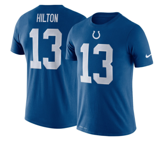 TY Hilton Indianapolis Colts #13 Blue Youth 8-20 Home Game Day Player Jersey