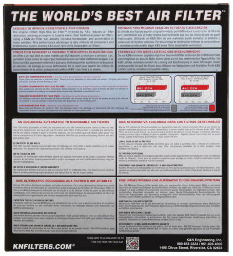 EXPED 05-06 33-2287 K/&N Replacement Air Filter FORD F150 04-08 F250 SD 05-07;