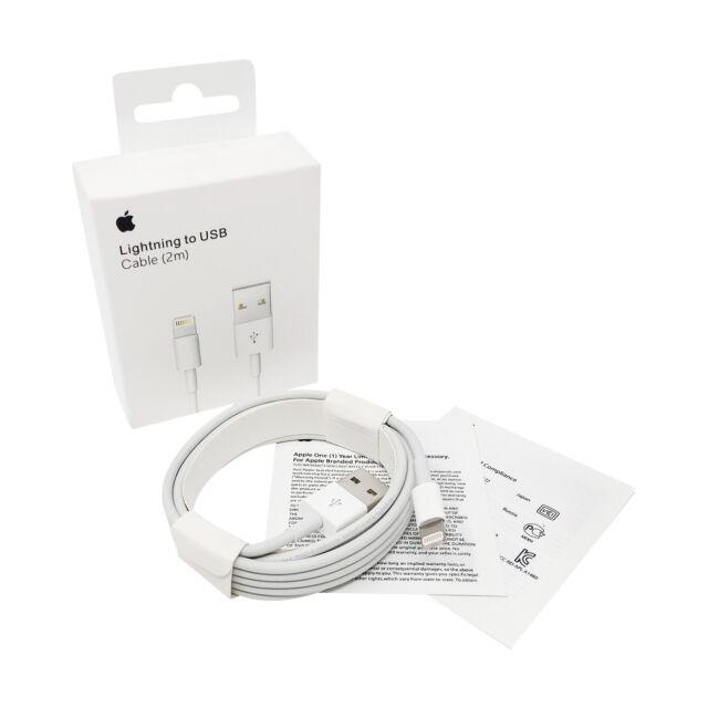 Original Apple Lightning 2M Ladekabel Datenkabel MD819ZM/A iPhone iPad iPod GLS
