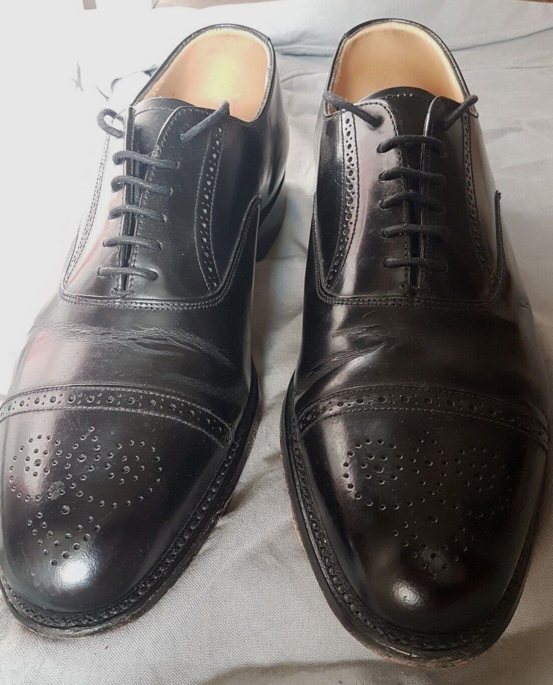 Grenson 8 F UK Brogues 38249 Formal Patterned 16244/01 38249 Brogues 13ed6e