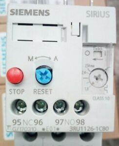 Siemens-Sirius-termico-motore-Rele-3RU1126-1CB0-1-8A-2-5A-E10-per-contattore