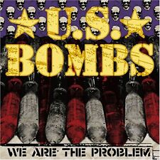 U.S. BOMBS - WE ARE THE PROBLEM / HEARTBREAK HOTEL 45 RPM