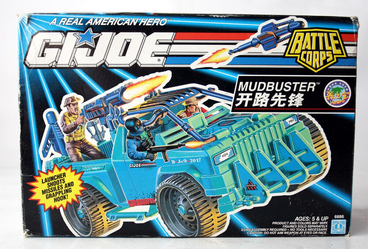 Muy Rara Vintage 1992 G I Joe Mudbuster cuerpo de batalla 4X4 Europeo Nuevo Sin Usar, En Caja