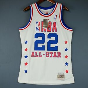 on sale fc761 c86d9 Details about 100% Authentic Clyde Drexler Mitchell Ness All Star Swingman  Jersey Size S 36