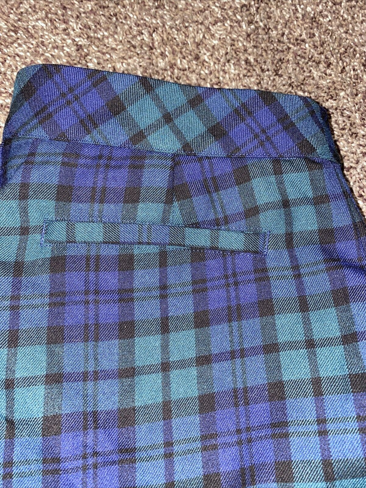 Womens Vineyard Vines Plaid Pants Size 2 Dress Pa… - image 2