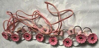 Fiducioso Cintura Fiore Rosa Per Ragazze-mostra Il Titolo Originale
