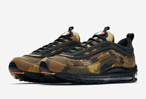 """Details about Nike Air Max 97 QS """"Italy"""" Camo AJ2614 202 Men Sizes NEW 100% Authentic Limited"""