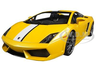 Lamborghini Gallardo Lp550 2 Valentino Balboni Yellow 1 18 By