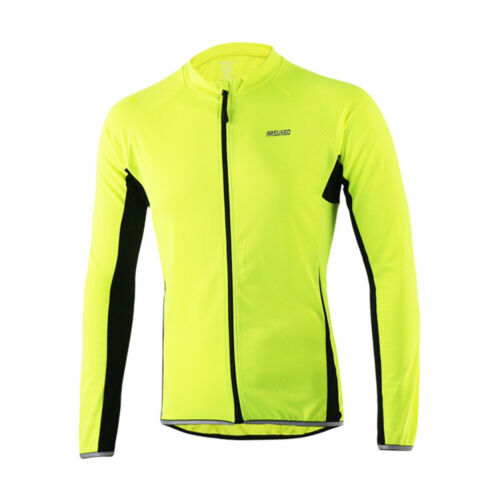 Winter Sports Fitness Jacket Cycling Bicycle Warm Thermal Coat Long Sleeve Tops