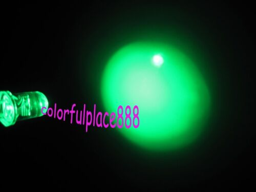 5mm Green Flash Self Flashing Blink Water Clear Bright LED Leds Light 100pcs